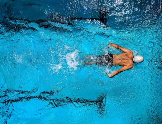 zwemmen nieuwe sport