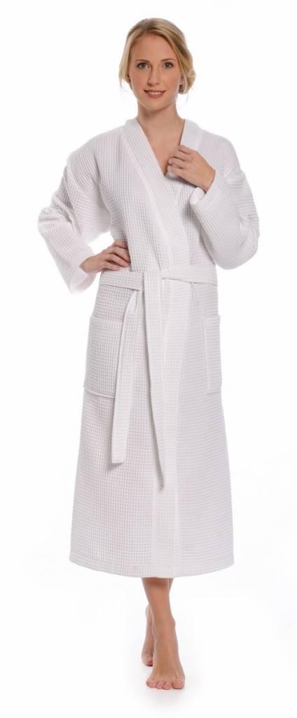 badjas met een naam erop
