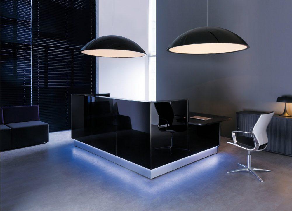 belang goede verlichting kantoor