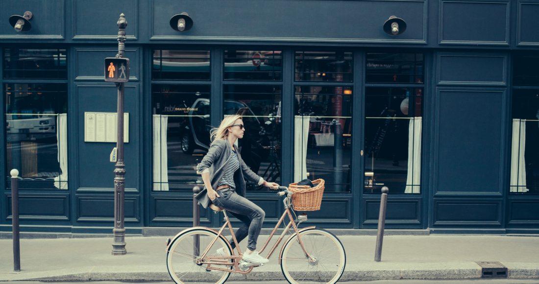 lekker in je vel met nieuwe fiets