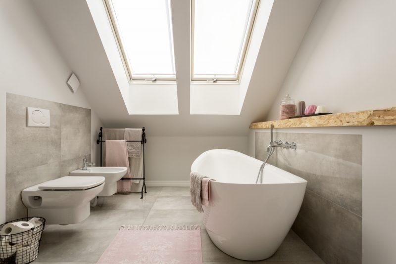 badwit badkamer