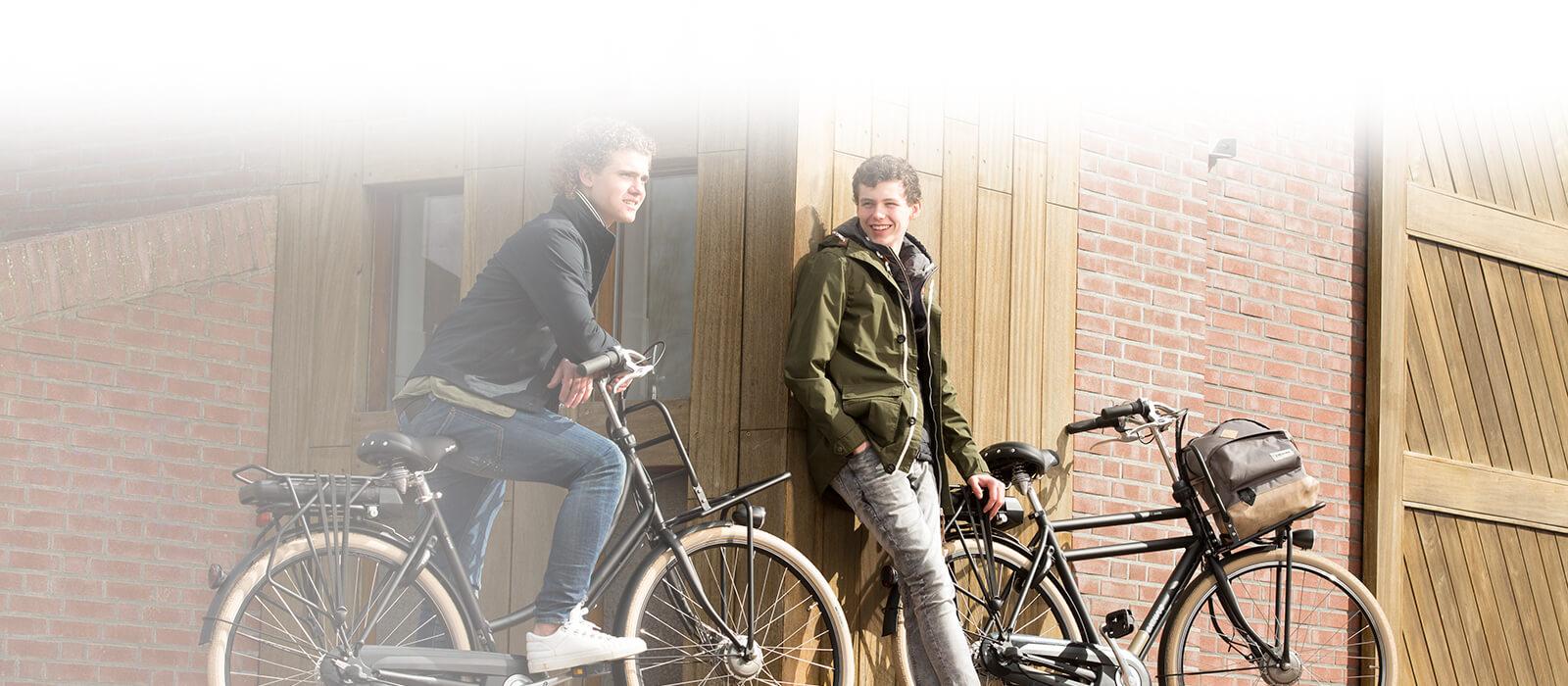 studenten elektrische fiets