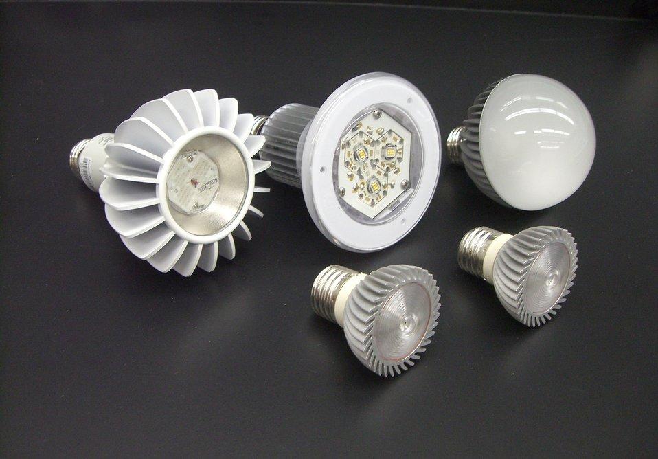 Soorten ledlampen