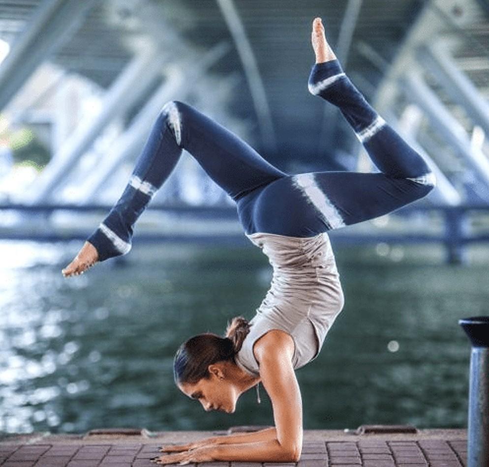 Deze yoga legging moet jij hebben