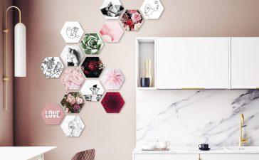 Hexagons, de uniekste manier om je muur te versieren!