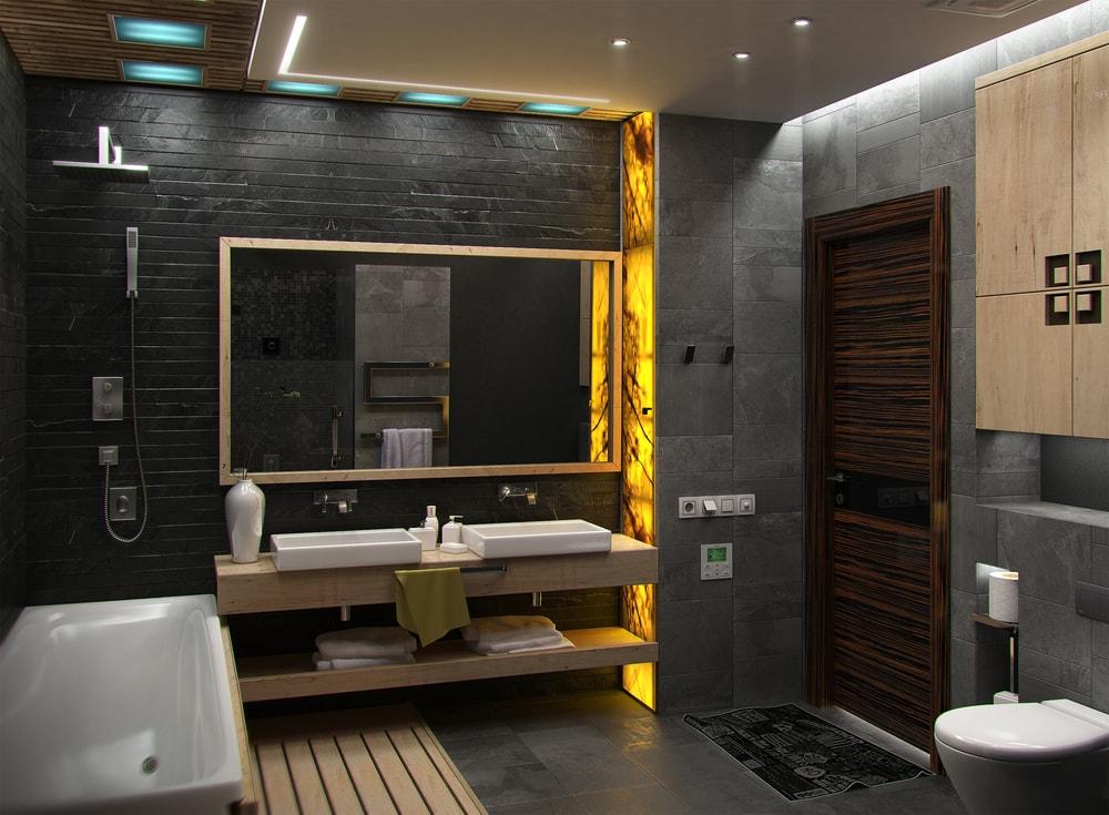 stijlvolle en trendy badkamer