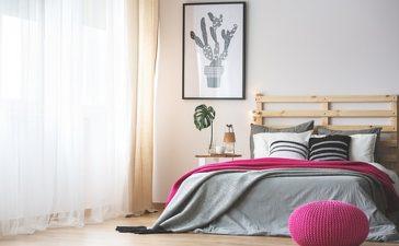 trendy slaapkamer