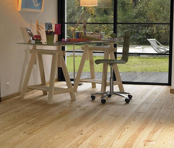 Relatief goedkoop grenen vloer