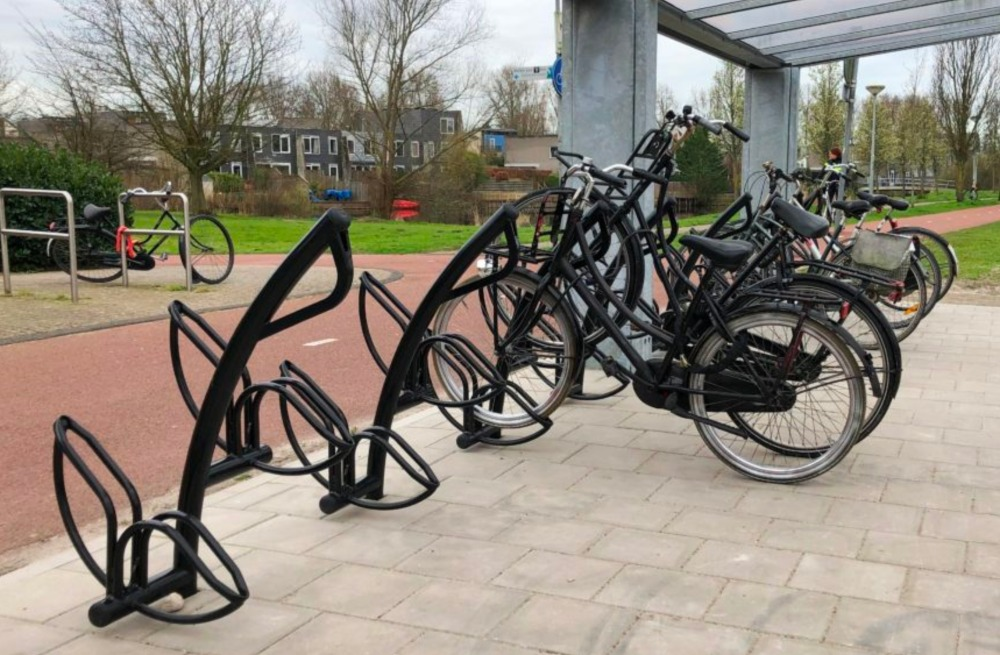 Grootte van het fietsenrek