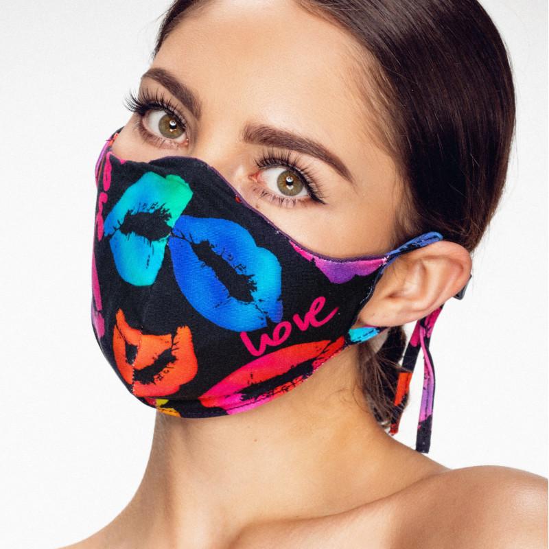 Het mondkapje als onderdeel van je outfit
