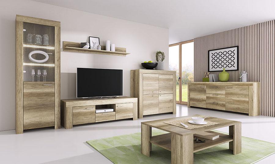 Een complete woonkamer