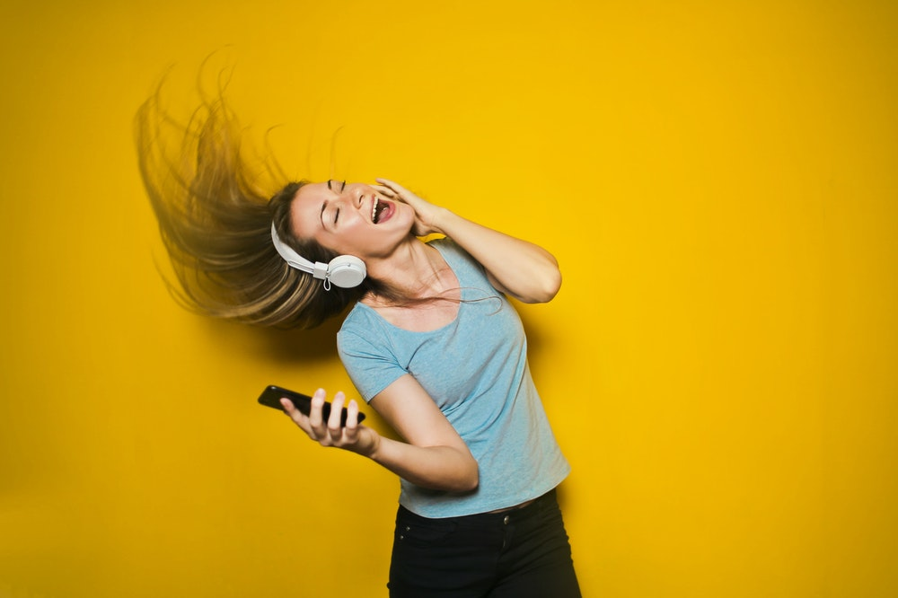 Streaming-audio draadloos genieten van muziek